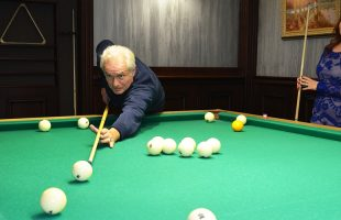 Leisure. Billiards and the launch of sky lanterns (2016)