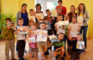 """Master class for children Center for Social Rehabilitation """"Ark"""" (2018)"""