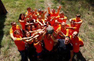 """Team building training """"Force coordinates 2018"""", Carpathians"""