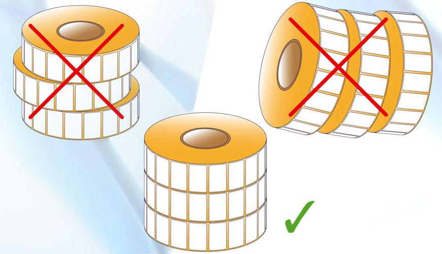 Як зберігати етикетки в рулонах